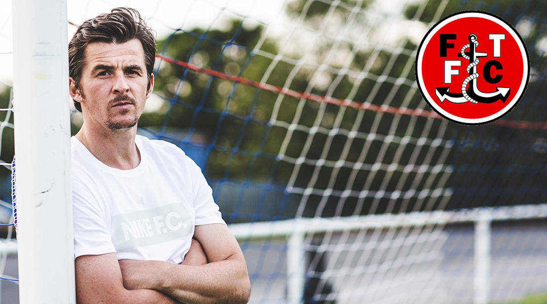 joey barton new fleetwood head coach